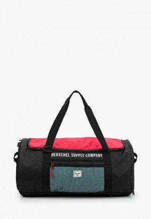 Сумка спортивная Herschel Supply Co Sutton Carryall. Цвет: черный