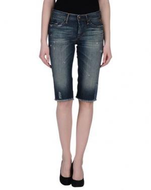 Джинсовые брюки-капри COAST WEBER & AHAUS. Цвет: синий