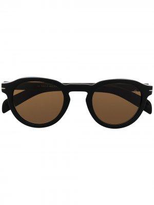Солнцезащитные очки 807/70 Eyewear by David Beckham. Цвет: черный