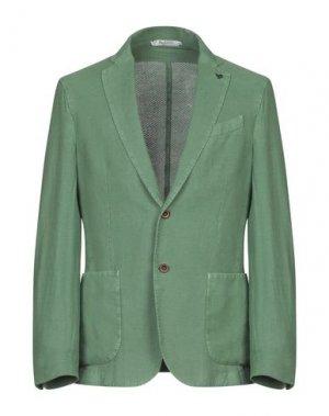 Пиджак BOTTEGA MARTINESE. Цвет: зеленый