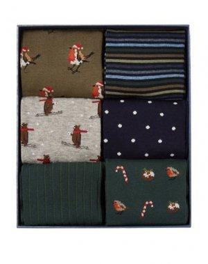 Короткие носки CORGI. Цвет: темно-зеленый