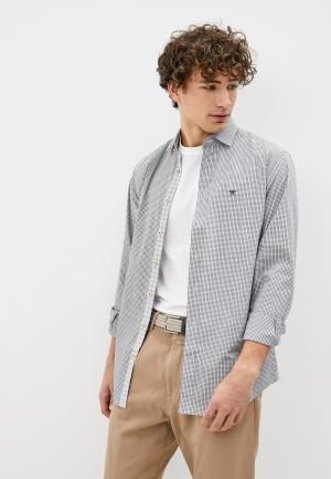 Рубашка Hackett London. Цвет: зеленый