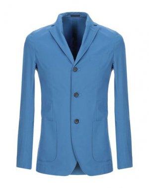 Пиджак CRUNA. Цвет: лазурный