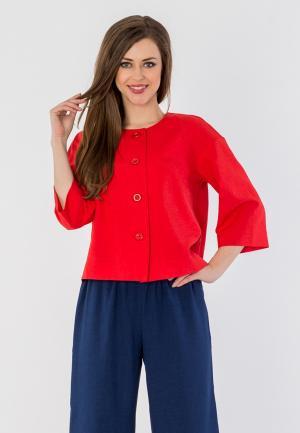 Жакет S&A Style. Цвет: красный