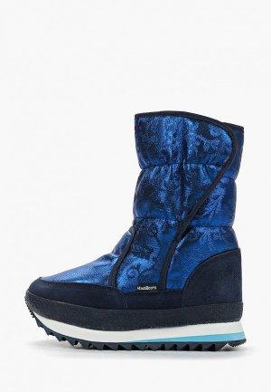 Дутики King Boots KB696BL. Цвет: синий