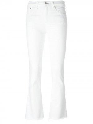 Джинсы прямого кроя Rag & Bone /Jean. Цвет: белый