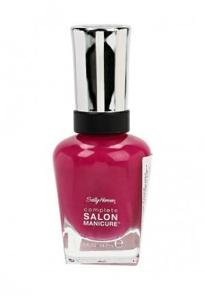 Лак для ногтей Sally Hansen Complete Salon Manicure, 712 Tell My Fuchsia, 14 мл. Цвет: розовый