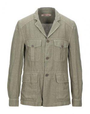 Пиджак 120%. Цвет: зеленый-милитари