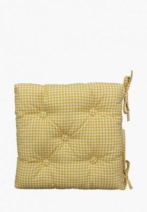 Подушка на стул Kauffort Sun Kimberly. Цвет: желтый