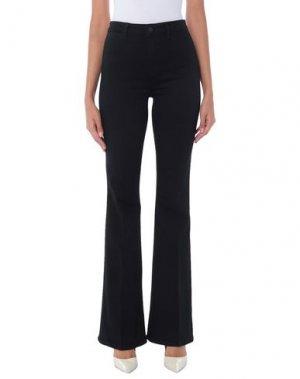 Джинсовые брюки L'AGENCE. Цвет: черный