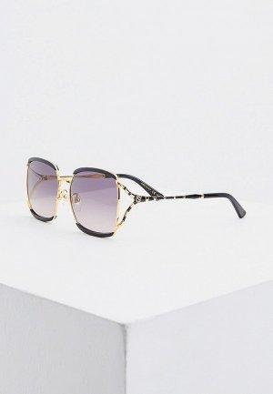 Очки солнцезащитные Gucci GG0593SK 001. Цвет: золотой