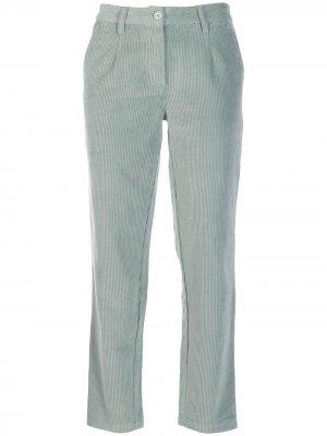 Вельветовые брюки Pamela Le Mont St Michel. Цвет: зеленый