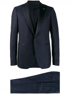 Классический вечерний костюм Tagliatore. Цвет: синий