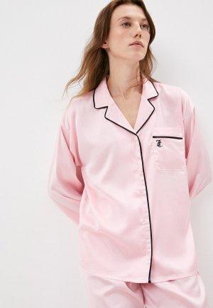Рубашка домашняя Juicy Couture PAQUITA. Цвет: розовый