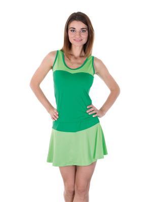 Топ EMDI. Цвет: зеленый, светло-зеленый