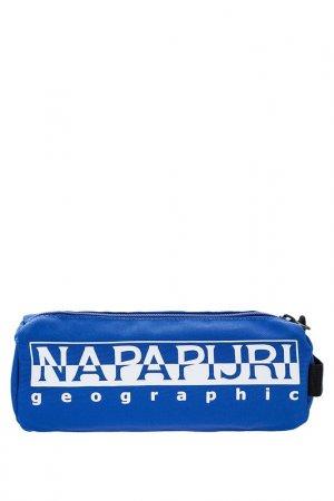 Косметичка Napapijri. Цвет: синий