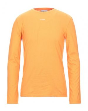 Футболка BAND OF OUTSIDERS. Цвет: оранжевый