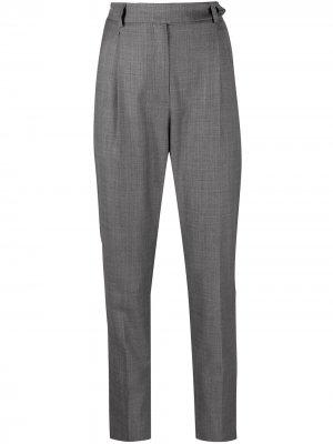 Зауженные брюки с завышенной талией IRO. Цвет: серый
