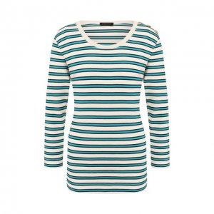 Пуловер из вискозы Escada. Цвет: зелёный