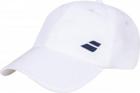 Бейсболка Basic Logo Babolat. Цвет: белый