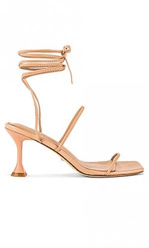 Туфли на каблуке roo RAYE. Цвет: беж