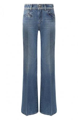 Расклешенные джинсы Givenchy. Цвет: синий