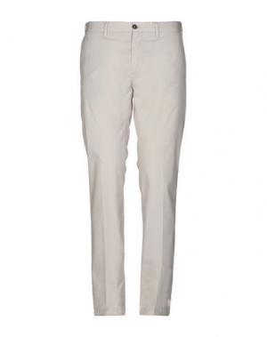 Повседневные брюки MARINA YACHTING. Цвет: светло-серый