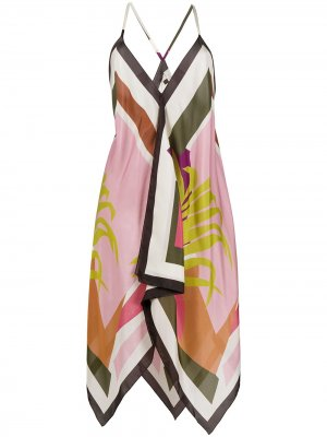 Блузка в стиле колор-блок Altea. Цвет: розовый