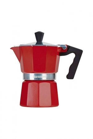 Кофеварка на 3 чашки Barazzoni. Цвет: красный