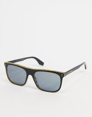 Черные квадратные солнцезащитные очки -Черный цвет Marc Jacobs