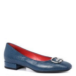 Туфли 2741 темно-синий PAS DE ROUGE
