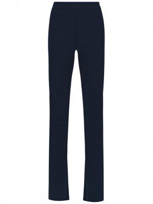 High waist flared pants Gloria Coelho. Цвет: синий