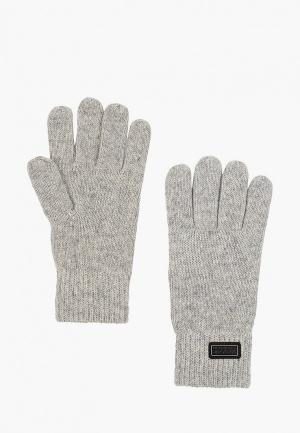 Перчатки Barbour. Цвет: серый