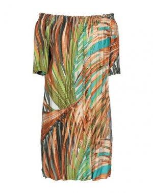 Короткое платье B.YU. Цвет: светло-зеленый
