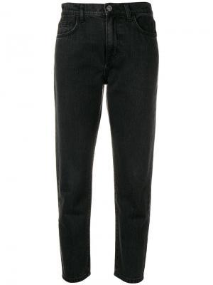 Укороченные зауженные джинсы Current/Elliott