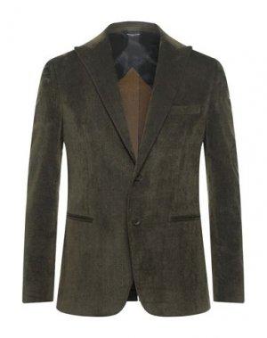 Пиджак TONELLO. Цвет: зеленый-милитари