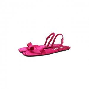Текстильные сандалии Ryder Alexander Wang. Цвет: розовый