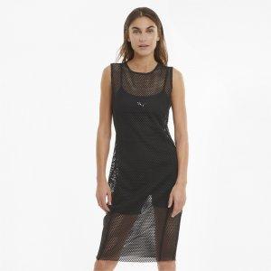Платье Evide Mesh Womens Dress PUMA. Цвет: черный