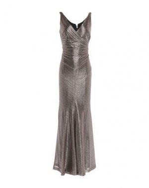 Длинное платье LAUREN RALPH. Цвет: золотистый