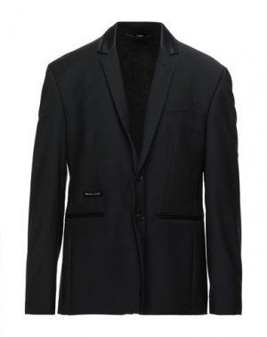 Пиджак PHILIPP PLEIN. Цвет: черный