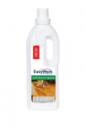Средство для мытья пола 750 мл EasyWork. Цвет: белый, зеленый, краcный