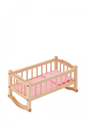 Игрушка Paremo Кроватка-люлька. Цвет: разноцветный