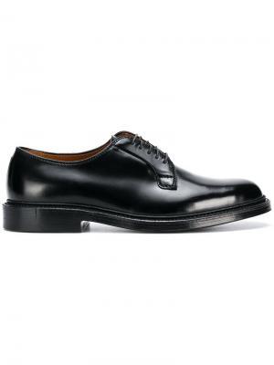 Classic Derby shoes Alden. Цвет: черный