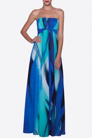 Платье Elfe. Цвет: синий
