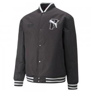 Бомбер x Varsity Jacket PUMA. Цвет: черный