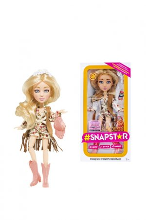 Кукла Aspen Snapstar. Цвет: бежевый, розовый, коричневый