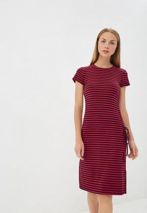 Платье Befree BE031EWAZZJ5. Цвет: красный
