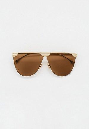 Очки солнцезащитные Fendi FF 0467/S 01Q. Цвет: золотой