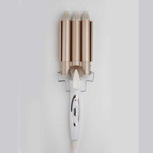 Щипцы для завивки волос SHEIN. Цвет: золотистый