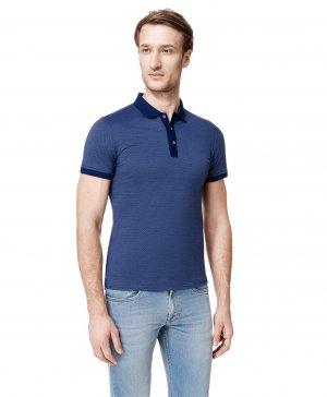 Рубашка поло HAYAS. Цвет: голубой